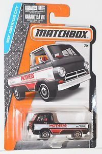 2015 Matchbox MBX Adventure City Mothers '66 Dodge A100 New in Box Mattel