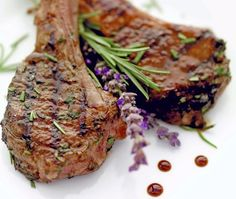 This marinade was excellent, would go with many other dishes. Herb-Marinated Lamb Chops