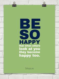 Be so happy