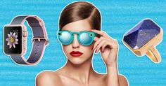 Geeky glamour! Keep scrolling to see six wearable technology accessories that are functional and fashionable, too.