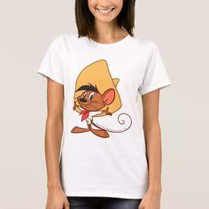 Speedy Gonzales Arms Out. Producto disponible en tienda Zazzle. Vestuario, moda. Product available in Zazzle store. Fashion wardrobe. Regalos, Gifts. #camiseta #tshirt #LooneyTunes