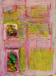LILA GRAS  Purple Pink Original Abstract Acryllic by LivsGlad, $500.00
