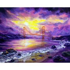 Dreaming of San Francisco California Seascape Painting http://www.amazon.com/gp/product/B00820MGYS/ref=as_li_ss_il?ie=UTF8=1789=390957=B00820MGYS=as2=thebooksatiwh-20