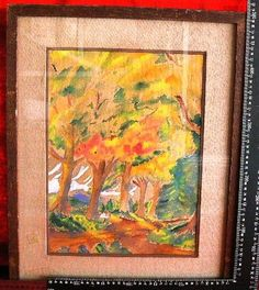 20231 $2999 or best offer - american listed artist - painting framed - shipped free anywhere in the world for fee - or pick up in sarchi costa rica