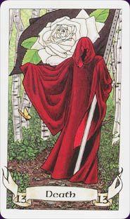 Scorpio's tarot card