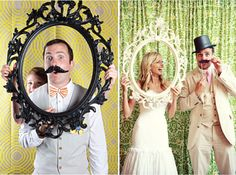 10 ways to add frames to your wedding