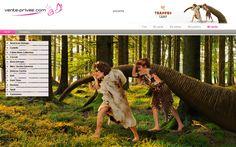 ¡Hoy la caza mayor es la protagonista del #venteprivee!  #VPSummerCamp #Webdesign