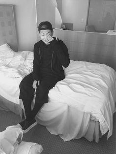BTS Tweet - Rap Mon (selca) 150801 --  #김데일리  -- [tran] #KimDaily