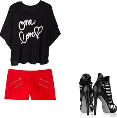 """yeah"" by karla-urquizo ❤ liked on Polyvore"