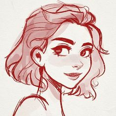 54 trendy ideas for art girl drawing character sketches faces Girl Drawing Sketches, Pencil Art Drawings, Illustration Sketches, Drawing Art, Character Illustration, Drawing Tips, Hair Illustration, Watercolor Illustration, Pencil Sketch Art