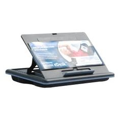LapGear smart-e Lap Desk Stand - nice looking, practical, and I should put this one on my wish list.  www.WritersCheatSheets.com
