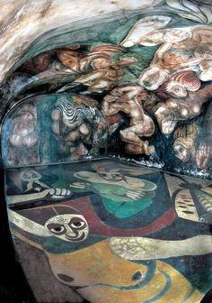 Mural Siqueiros en su lugar original