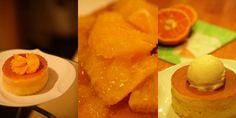 梅田 雪ノ下工房 : 季節のオレンジのパンケーキ 700円(ネット予約可)