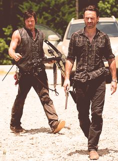 If these are the kind of men who survive the zombie apocalypse, I say bring it.