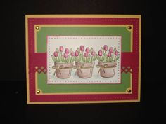 tulips by mjaug - Cards and Paper Crafts at Splitcoaststampers
