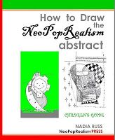 """A book for elementary school - """"How to Draw the NeoPopRealism Abstract: Childeren's Guide"""" - beautiful!"""