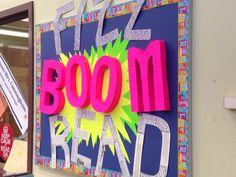 Library summer reading program school library 2014 Fizz Boom Read