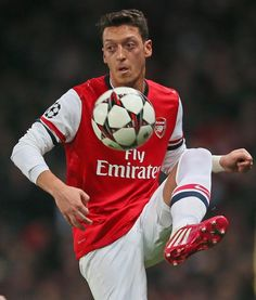 Arsenal's Mesut Ozil I love him like more than anything