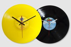 craft idea with a record and clock kit!!