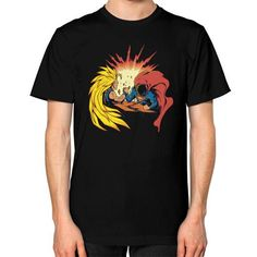 fight of titans T-Shirt (on man)  #d4stor3pty #nba #instagood #comic #anime #nerd #nfl #comiccon