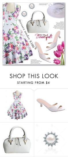 """Vacation Summer Dress"" by jecakns ❤ liked on Polyvore featuring vintage"