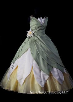 Princess and the Frog Custom Costume by NeverbugCreations on Etsy