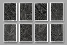 12 Mid Century Modern Minimalist Art by TMN ART on @creativemarket Modern Minimalist, Mid-century Modern, Mid Century, Abstract, Artwork, Summary, Work Of Art, Auguste Rodin Artwork, Artworks
