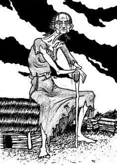 """Bieda. Slavic demon"" by Maszkai"