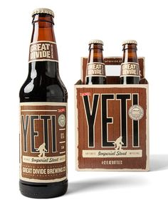 Great Divide Yeti Designed by Cultivator Advertising & Design