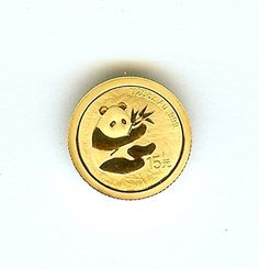 CHINA 2007 GOLD 15 YUAN - 25TH ANNIVERSARY PANDA - 2000- PERFECT PROOF DCAM