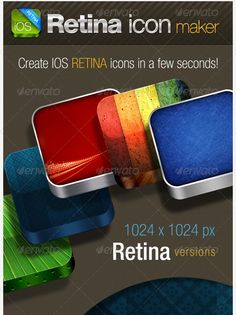 IOS Retina Icon Maker