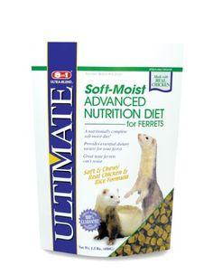 8in1 Ultimate Ferret Soft-Moist Diet, 24-Ounce