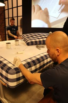 This year's eye-catching stand builds on the values and beliefs of Hästens and is designed to raise awareness of the benefits of sleep. Three distinct areas reflect the brand's passion for natural materials, craftsmanship and pride in the 160 year heritage... #hastens #event #salonedemobile2015 #milan