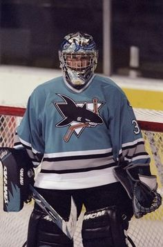 The San Jose Sharks original jersey was a best seller in the early 1990s, even when the team was losing consistently on the ice.