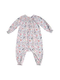 16098eca434 Marzia Printed Cotton Romper by Egg at Gilt Lil Sis