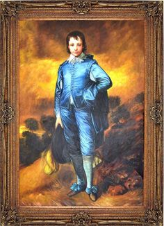 The Blue Boy By Thomas Gainsborough Names Boys