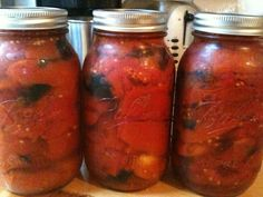 Foods For Long Life: Canning Fire Roasted Tomatoes Using A Hot Water Bath