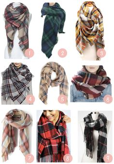 No kidding, this blanket scarf DIY is so easy! A blanket scarf is so versatile and makes THE perfect handmade gift for the girlfriends! Blanket Scarf Outfit, How To Wear A Blanket Scarf, Ways To Wear A Scarf, How To Wear Scarves, Scarf Outfits, Fall Fashion Outfits, Autumn Outfits, Fashion Ideas, Women's Fashion