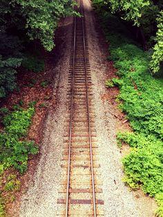 Railroad tracks Bloomsburg PA