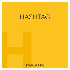 A hashtag is a word or phrase that has the hash symbol (#) in front of it, to show that it is the topic of a message on social media. It may contain letters, digits, and underscores. Searching for that hashtag will yield each message that has been tagged with it and it is the best way to search for anything particular on social media from such a large pool of content.  It can be used on any of the social media platforms available but it is most popular on Twitter and Instagram. Hashtags, Being Used, Platforms, Searching, Social Media, Letters, Messages, Content, Popular