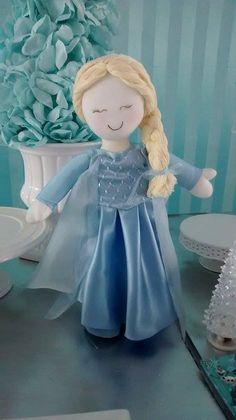 Boneca de pano Elsa frozen