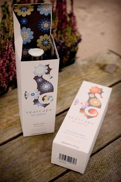 × seascape les petits packaging / #design