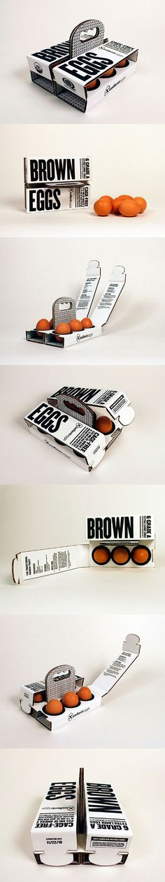 Оригинальная упаковка для яиц