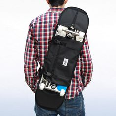 Shoulder bag for Skateboard – Black from monark supply