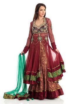 Double+Shirt+Anarkali+Dresses+6.jpg (500×749)