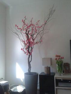 Onze eigen bloesem boom creatie!