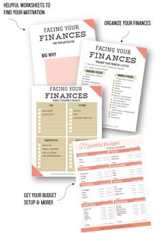 Facing Your Finances: Build Your Budget Workbook OTO - Budget with Rachel Make Money From Home, Way To Make Money, Paid Surveys, Finance Organization, Monthly Budget, Family Budget, Budgeting Finances, Set You Free, Change My Life