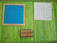 Criar, amar, vivir: Tablero del 100 Montessori: fabricación casera
