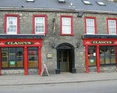 Bruff, Ireland - Clancy's http://passingthru.com/2014/03/old-bank-bb-sightseeing-bruff-ireland/