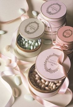Laduree Paris - totally giving these out as favors...